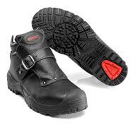 F0072-911-09 Sicherheitsstiefel - Schwarz