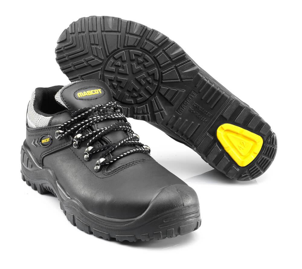 F0073-902-0907 Chaussures de sécurité - Noir/jaune