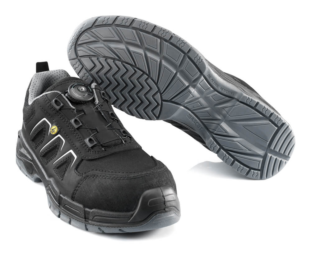 F0111-937-09 Chaussures de sécurité - Noir