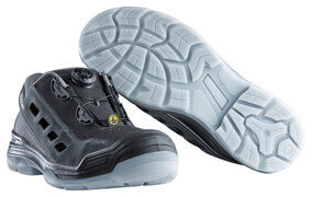 F0119-906-09888 Sandales de sécurité - Noir/Anthracite