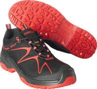 F0121-770-0902 Chaussures de sécurité basses - Noir/Rouge