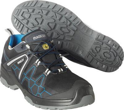 F0123-772-0911 Chaussure de sécurité - Noir/Bleu roi