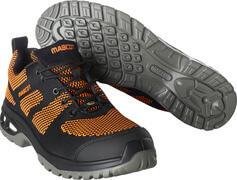 F0131-849-09140 Chaussure de sécurité - Noir/Orange foncé