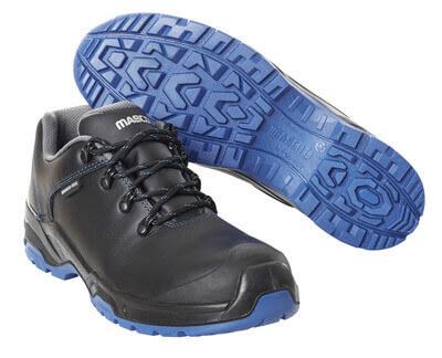 F0140-902-0901 Chaussure de sécurité - Noir/Bleu roi