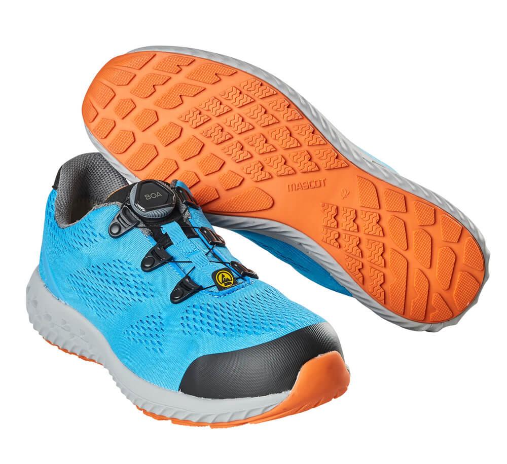 F0300-909-87 Chaussures de sécurité - Bleu turquoise