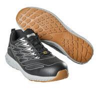 F0301-909-37880 Chaussure de sécurité - Vert lime/argent
